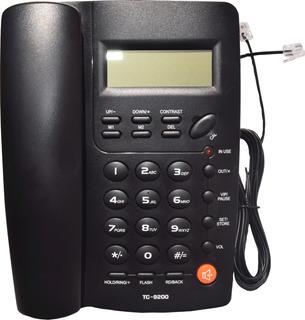Teléfono Homedesk Tc-9200 Para Casa U Oficina Alámbrico
