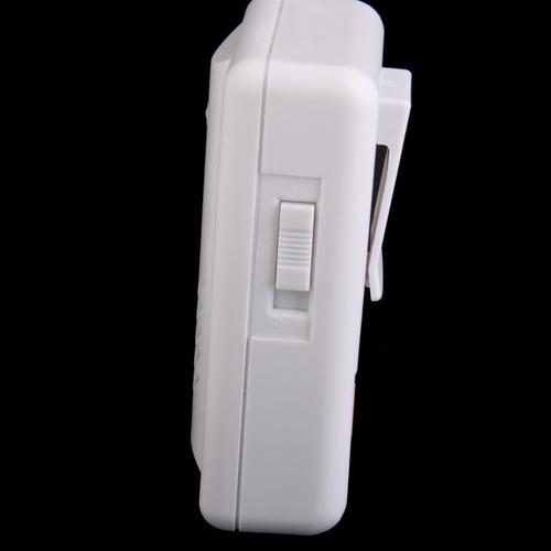 Alarma de Agua inal/ámbrica gsm Sensor de Agua Sirena de Alarma de Agua inal/ámbrica con bater/ías 1x Detector de inmersi/ón en Agua