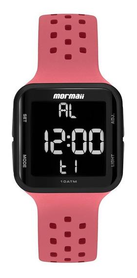 Relógio Mormaii Unissex Digital Rosa Mo6600ae/8t Lançamento