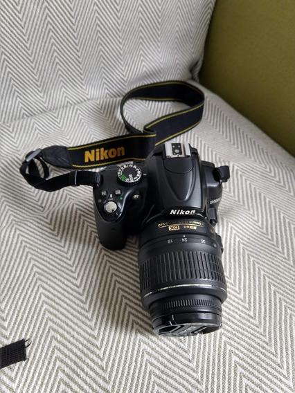 Câmera Nikon D5000 + Lente 18-55mm + 32gb + Mochila