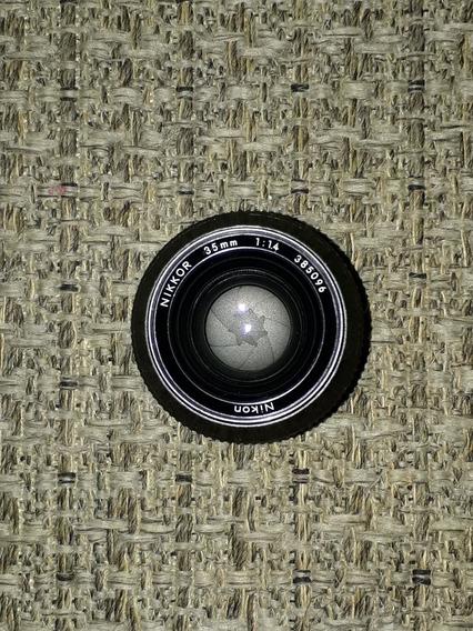 Nikon 35mm F/1.4 (pré Ai Manual)
