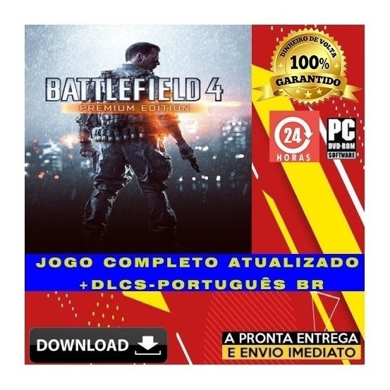 Battlefield 4: Premium Edition - Pc + Todas Dlcs - Digital