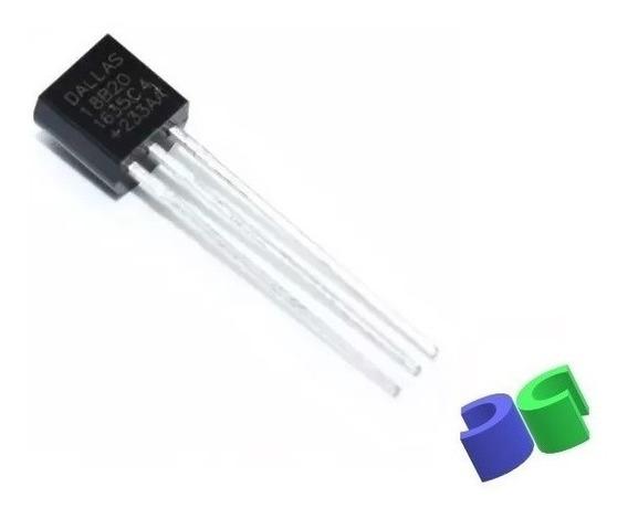 100pç -sensor De Temperatura - Ds18b20 - 18b20