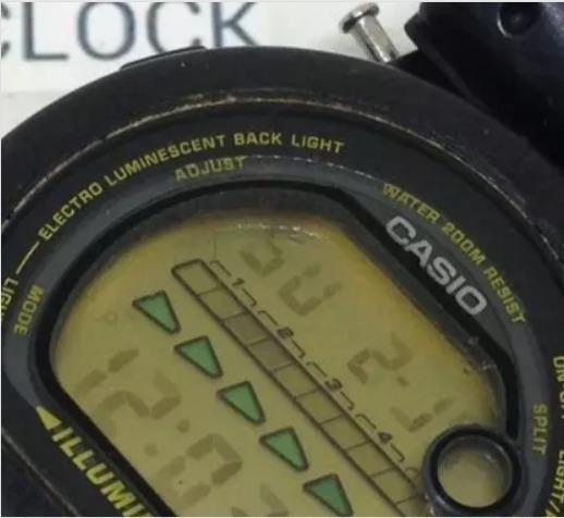 Relógio De Pulso Casio Dw002 Masculino T09446 Webclock