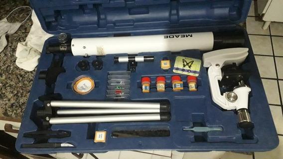 Kit Microtelescópio E Telescópio - Maede