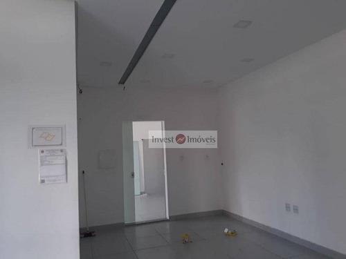 Sala Para Alugar, 270 M² Por R$ 1.200/mês - Palmeiras De São José - São José Dos Campos/sp - Sa0281