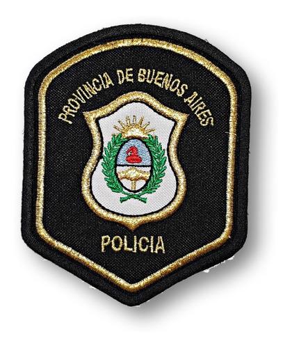 Escudo Parche Bordado Policía Provincia Buenos Aires
