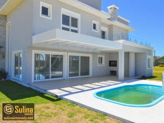 Casa À Venda Em Atlântida Sul - Ca00820 - 33410295