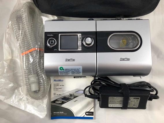 Cpap Humidificador Nebulizador S9 Auto Set