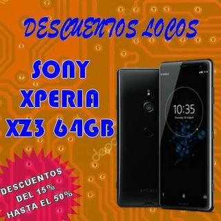 Xz3 Red 4g Sony Xperia Memoria 64gb Libres Fabrica Con Garan