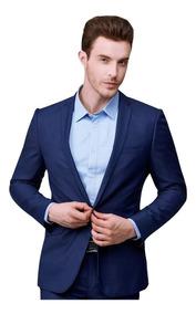 Terno Masculino Slim Super Brilho + Gravata