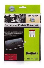 Carregador Universal P/ Notebook ,netbook, 12v Á 24v