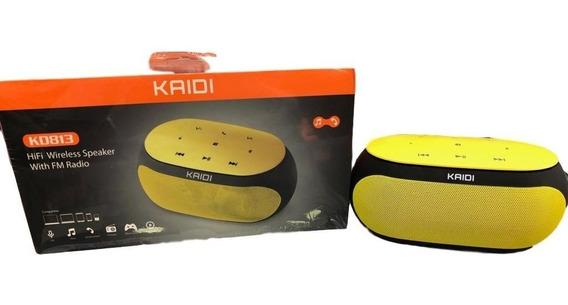 Caixa Auto Falante Bluetooth Com Rádio Fm Atende Chamadas