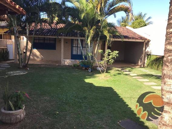 Casa Com 3 Quartos À Venda Por R$ 450.000 - Praia De Santa Mônica - Guarapari/es - Ca0504