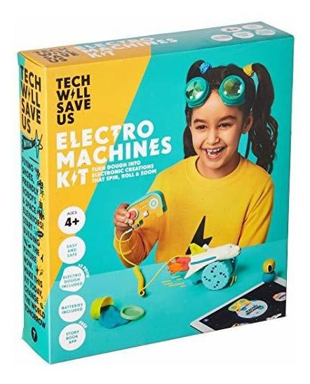Tech Se Salvarnos Electro Máquinas Kit Educativo Tallo Jugue