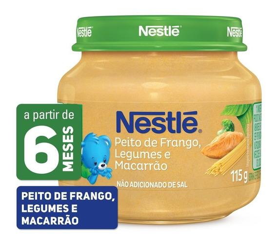 Papinha Nestlé Galinha Legumes E Macarrão 115g
