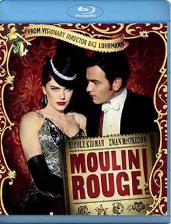 Moulin Rouge Amor Em Vermelho - Blu-ray Filme Drama