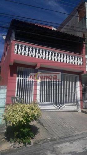 Sobrado 125m² 2 Dormitórios 1 Suíte 2 Vagas Jardim São Manuel Guarulhos - Ai17688