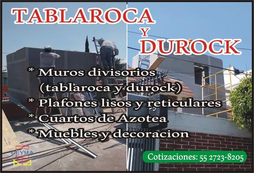 Imagen 1 de 10 de Tablaroca Y Durock