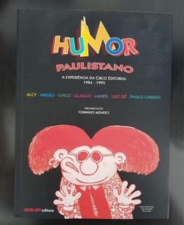 Livro Hq Humor Paulistano - Laerte, Glauco, Angeli Etc