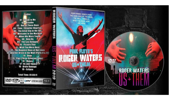 Dvd Roger Waters Us+them Live