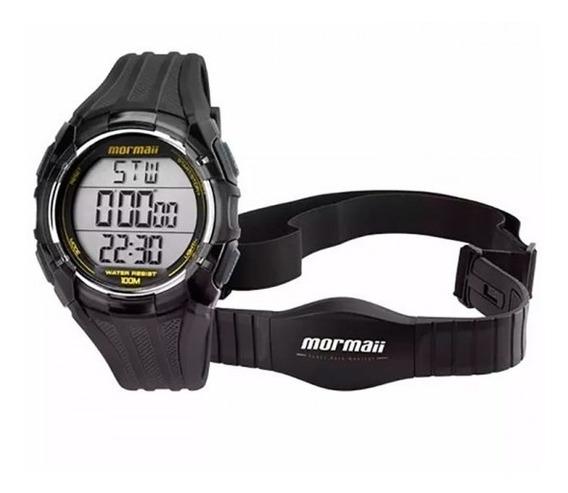 Relógio Mormaii Monitor Cardíaco Masculino Mo11558a/8a
