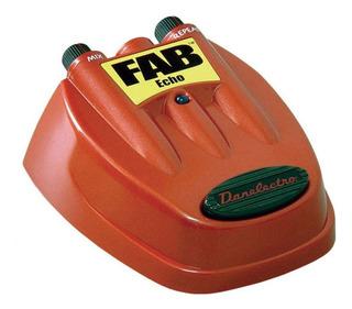 Pedal Danelectro Fab D-4 Echo Para Guitarra Electrica