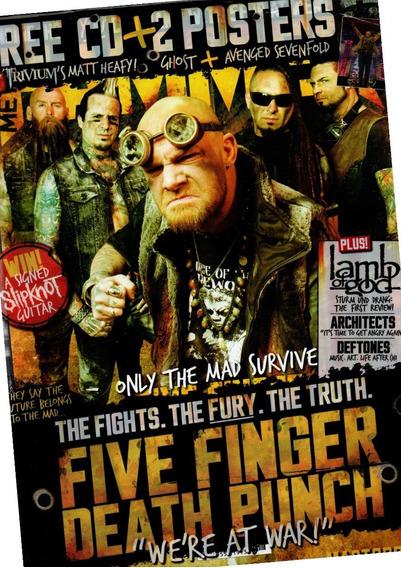 Metal Hammer - Revista De Rock Pauleira Five Finger Death