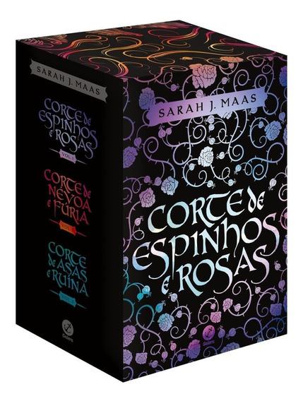 Box - Corte De Espinhos E Rosas - 3 Livros