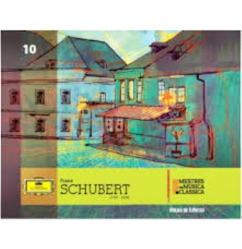 Cd Franz Schubert Mestres Da Música Clássica Folha 10 Novo