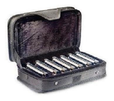 Set 7 Armonicas A + Bb + C + D + E + F + G Stagg Bjhb20set1