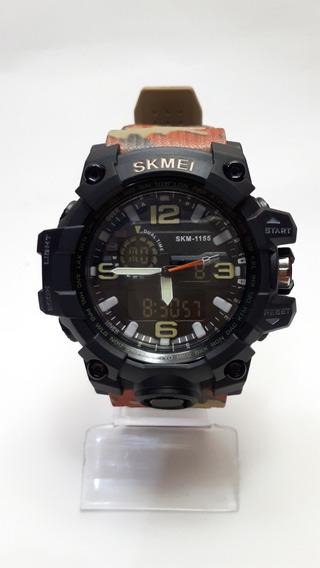 Relógio Skmei Masculino Militar Esportivo Estiloso Camuflado