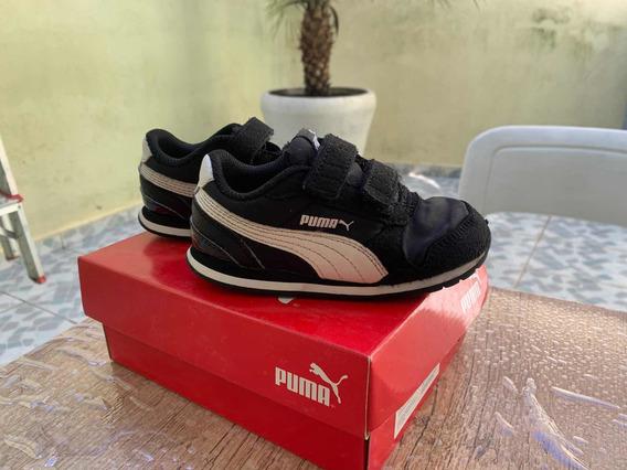 Tênis Infantil Puma - Usado N.22