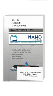 Protector Liquido Pantalla Nano Titanium Importado Curvos
