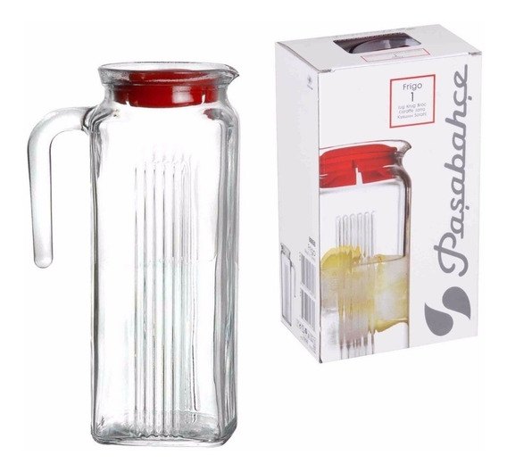 Botellon Jarra De Vidrio Botella 1 Litro Pasabahce Diseño !!!!