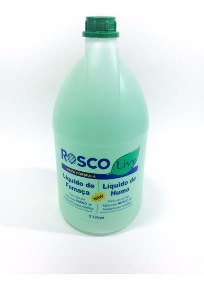 Liquido Rosco Livy 5 Litros Para Maquina De Fumaça