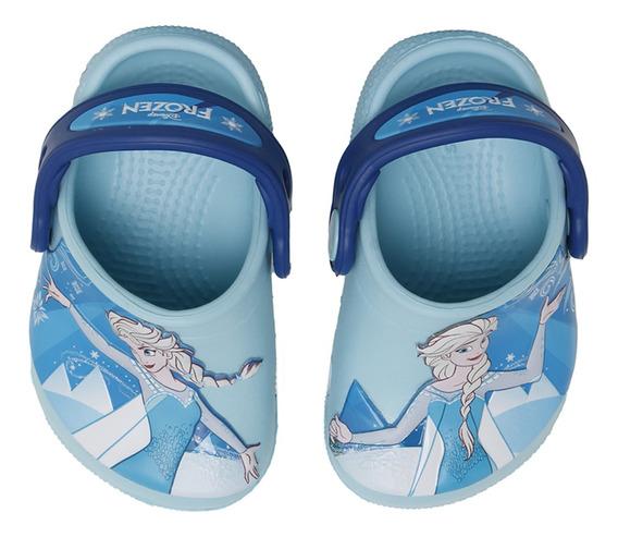 Sandalias Crocs Frozen Ol Clg K Niña Ce/az