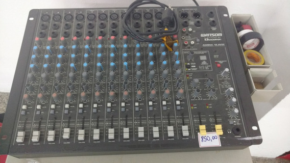 Não Envio! Mesa Wattsom Ambw 12 Efp Audio Mixer