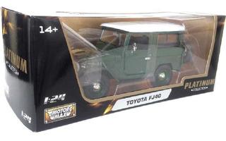 Toyota Bandeirante Fj40 Capota Removível Motormax Escala1/2