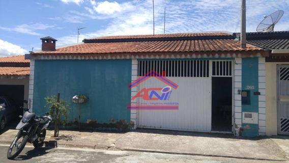 Casa Com 4 Dormitórios À Venda, 120 M² Por R$ 460.000 - Jardim Nova Hortolândia I - Hortolândia/sp - Ca0099