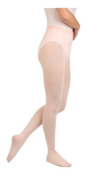 Andanzza Mallas Para Ballet Microfibra Con Pie Para Niña