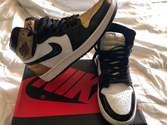 Nike Air Jordan 1 Gold Top 1985 Para Entrega Inmediata