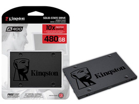 Hd Ssd Kingston 480gb Ssdnow A400 Sata 3 6gb/s + Nfe