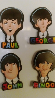 The Beatles, Imanes Decorativos De Fomi