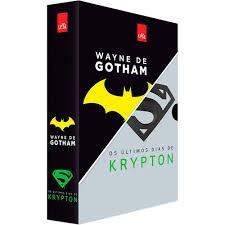 Box Livro Os Últimos Dias De Kripton E Weyne De Gothan