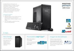 Desktop Positivo Dri7232 I3, Core I3 (3220), 4gb 1tb,