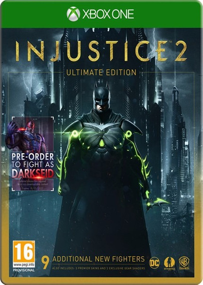 Injustice 2 Ultimate Edition - Xbox One - Jogo Off-line