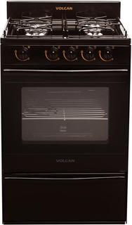 Cocina Multigas 55cm 4 Hornallas Volcan Nueva Linea