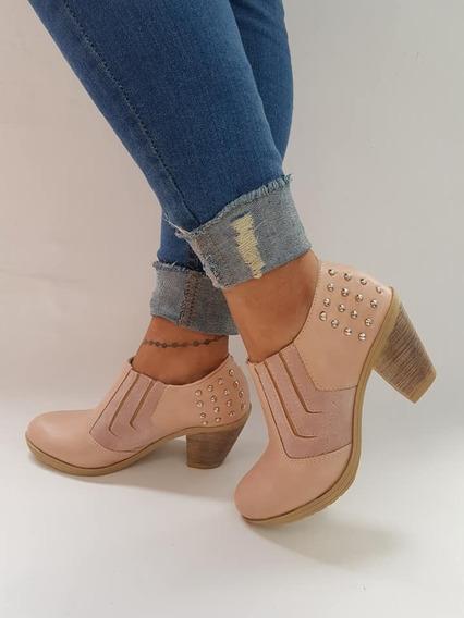 Zapatos Botas Charritos Texanas Tachas