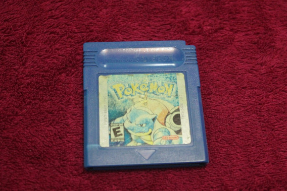 Jogo Pokemon Blue Original Americano Para Game Boy Usa